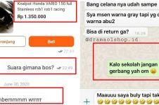 10 Chat lucu penjual online shop ngegas abis ini bikin cekikikan