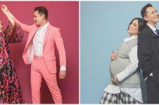 10 Potret maternity Ussy Sulistiawaty dalam berbagai tema, keren abis