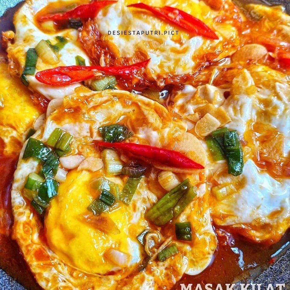 kreasi telur goreng © 2020 brilio.net