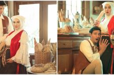 6 Potret maternity Irish Bella & Ammar Zoni, bertema Baked with Love