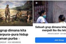 10 Nama grup 'berpura-pura' di FB, lucunya bikin senyum garing