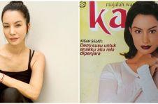 10 Potret Nadya Hutagalung jadi model sampul majalah lawas, stunning