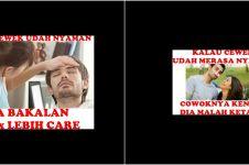 10 Meme lucu 'kalau cewek udah nyaman' ini harusnya bikin cowok sadar