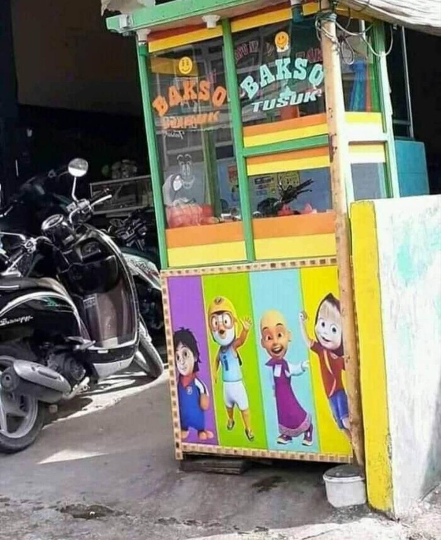 penampakan gambar gerobak jualan © 2020 instagram.com