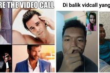 10 Meme lucu saat video call ini bikin cekikikan