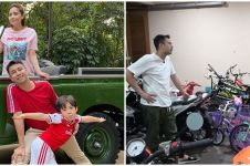 7 Potret garasi motor & sepeda Raffi Ahmad, koleksinya bikin melongo