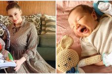 10 Potret anak ketiga Alessia Cestaro & Ahmad Affandy, jago pose