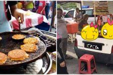 Penjual martabak mi ini sulap mobil mini jadi food truck
