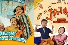 7 Potret anak Dwi Sasono & Widi Mulia rilis lagu di Hari Anak Nasional