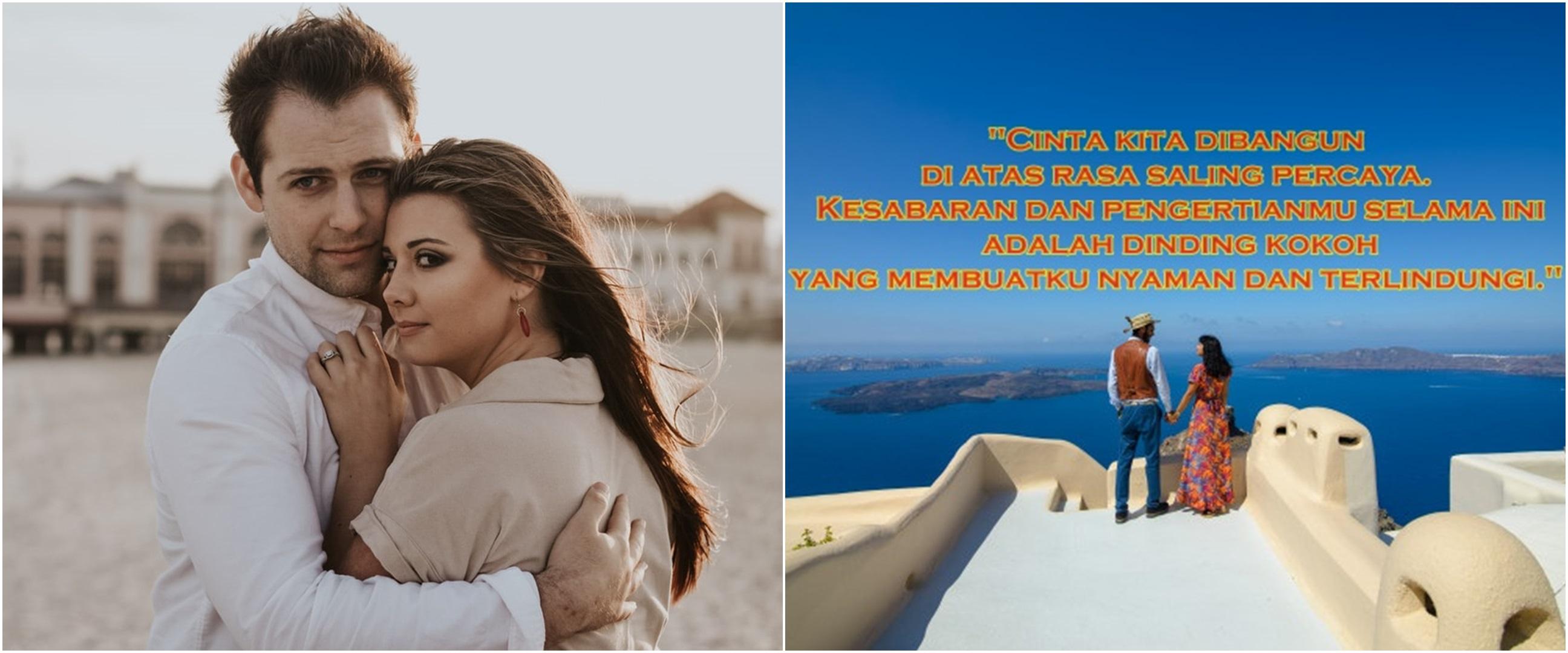 45 Kata-kata cinta untuk suami, romantis dan menyentuh hati