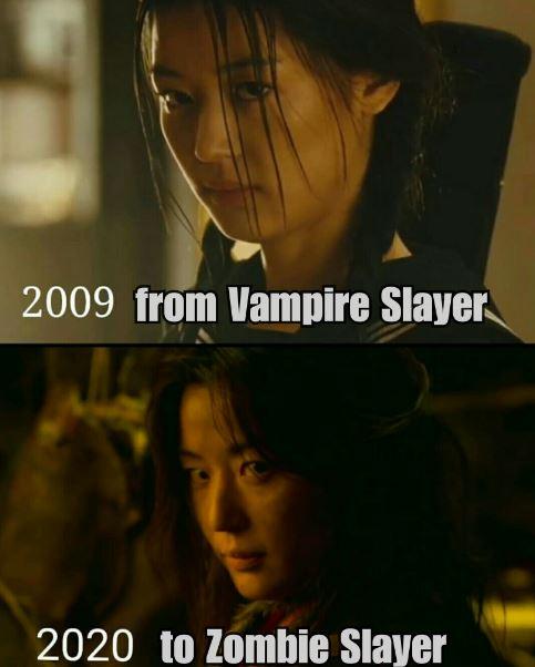 vampir seleb Korea Twitter