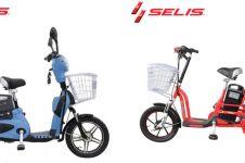 Harga sepeda listrik Selis dan spesifikasi, keren & ramah lingkungan