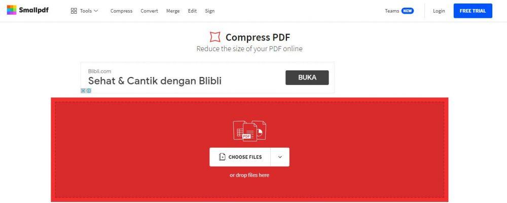 Cara mengecilkan ukuran file PDF berbagai sumber