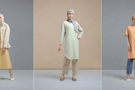 4 Gaya padupadan hijab minimalis rancangan Ayudia, elegan dan stylish