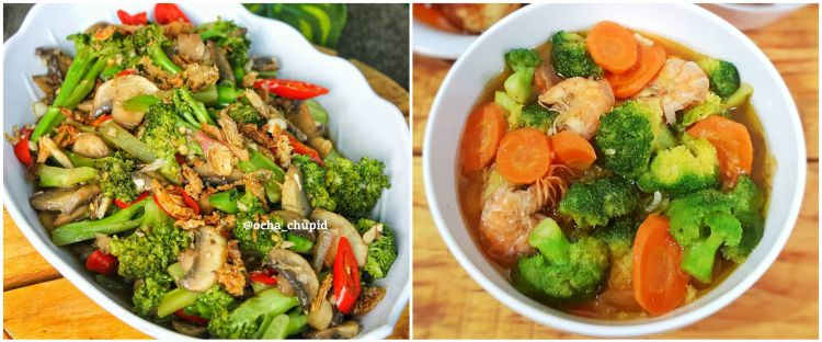 10 Resep tumis brokoli super enak, mudah dan sederhana