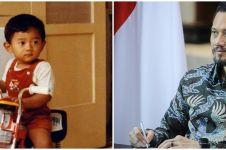 8 Potret masa kecil Agus Yudhoyono ini bikin pangling