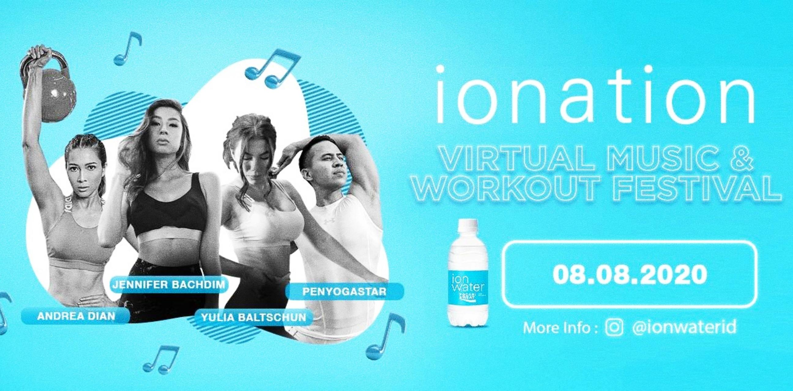 4 Fakta festival virtual olahraga dan musik terbesar di Indonesia