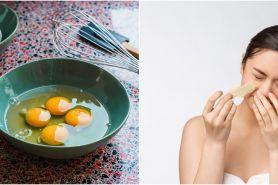 5 Cara menghilangkan komedo dengan putih telur, ampuh dan alami