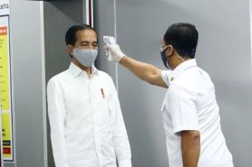 Jokowi lakukan swab test terkait kabar wawali Solo positif corona