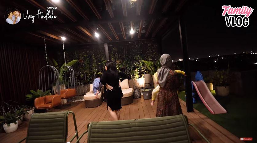 penampakan rumah ahmad sahroni youtube