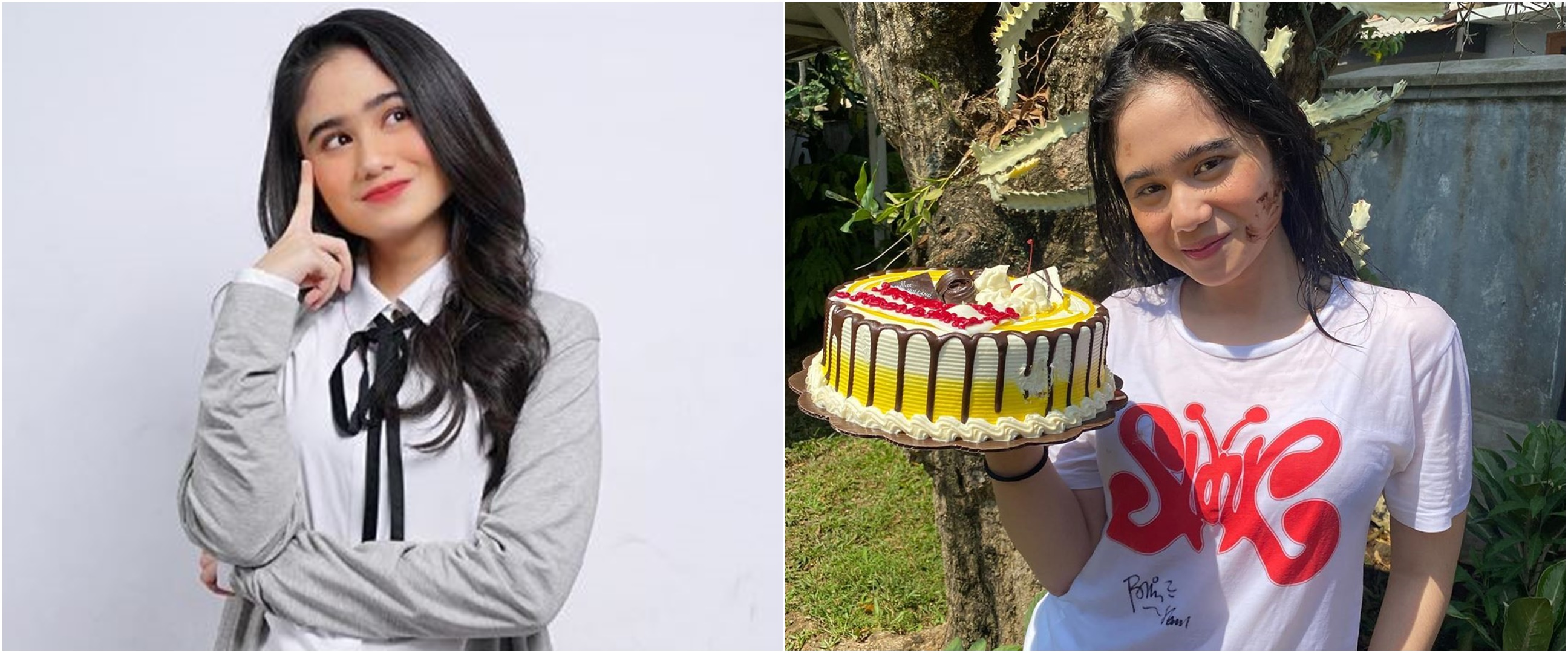 7 Momen ulang tahun Tissa Biani, dapat kejutan di lokasi syuting