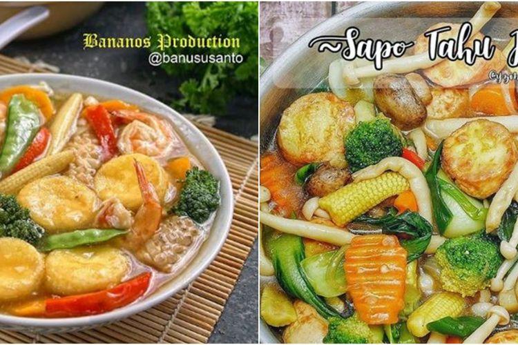 Resep Sapo Tahu Seafood Yang Enak