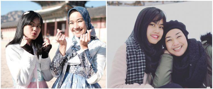 9 Potret kebersamaan Alya Rohali & putri sulung, bak kakak adik