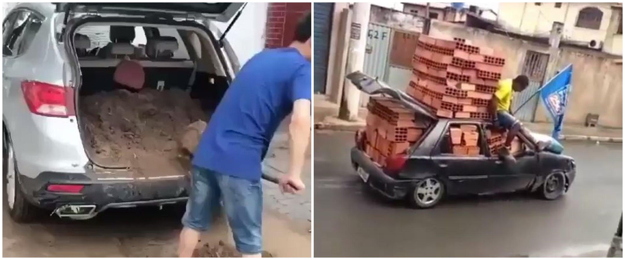 7 Potret mobil isi material proyek bikin geleng kepala