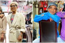 9 Potret kakek nenek bergaya bak model kekinian, stylish abis