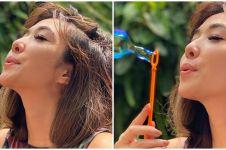 Unggah potret liburan, tato Gisella Anastasia bikin salah fokus