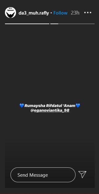 Ega Noviantika melahirkan  Instagram