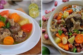 7 Resep sop buntut enak, sederhana, segar, dan menggugah selera