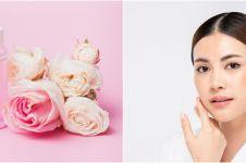 5 Manfaat air mawar untuk kecantikan, bikin wajah glowing