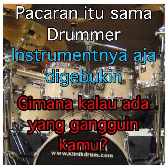 drummer gombal berbagai sumber