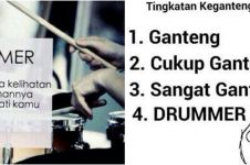 9 Meme lucu gombalan ala drummer, bisa bikin cewek meleleh