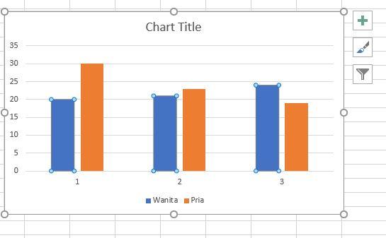 cara membuat grafik Excel freepik
