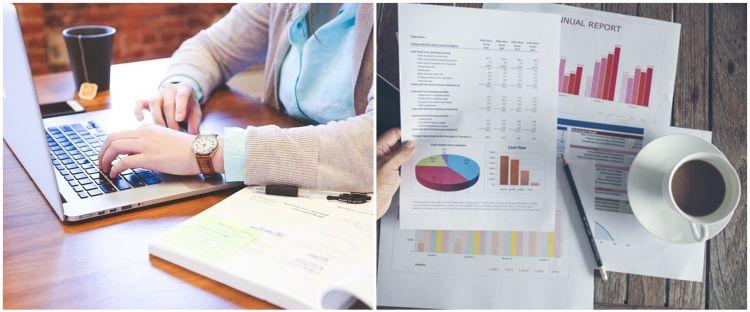 Cara membuat grafik di Microsoft Excel, mudah dan cepat