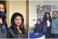 10 Pesona Gersha Jagwani putri 'Hans' Si Doel,  jadi duta Thalassaemia