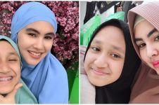 10 Momen kedekatan Kartika Putri & putri tirinya, bak kakak-adik