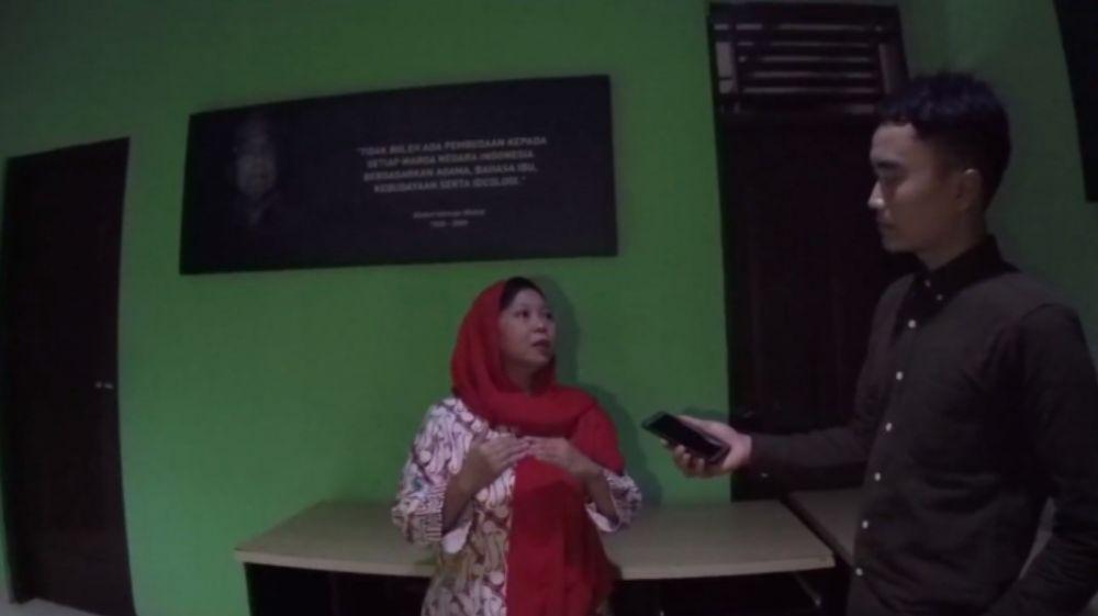 Potret rumah Gus Dur YouTube/ Ismail Fahmi