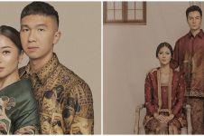 Gaya prewedding 9 seleb pakai kain batik, termasuk Nikita Willy
