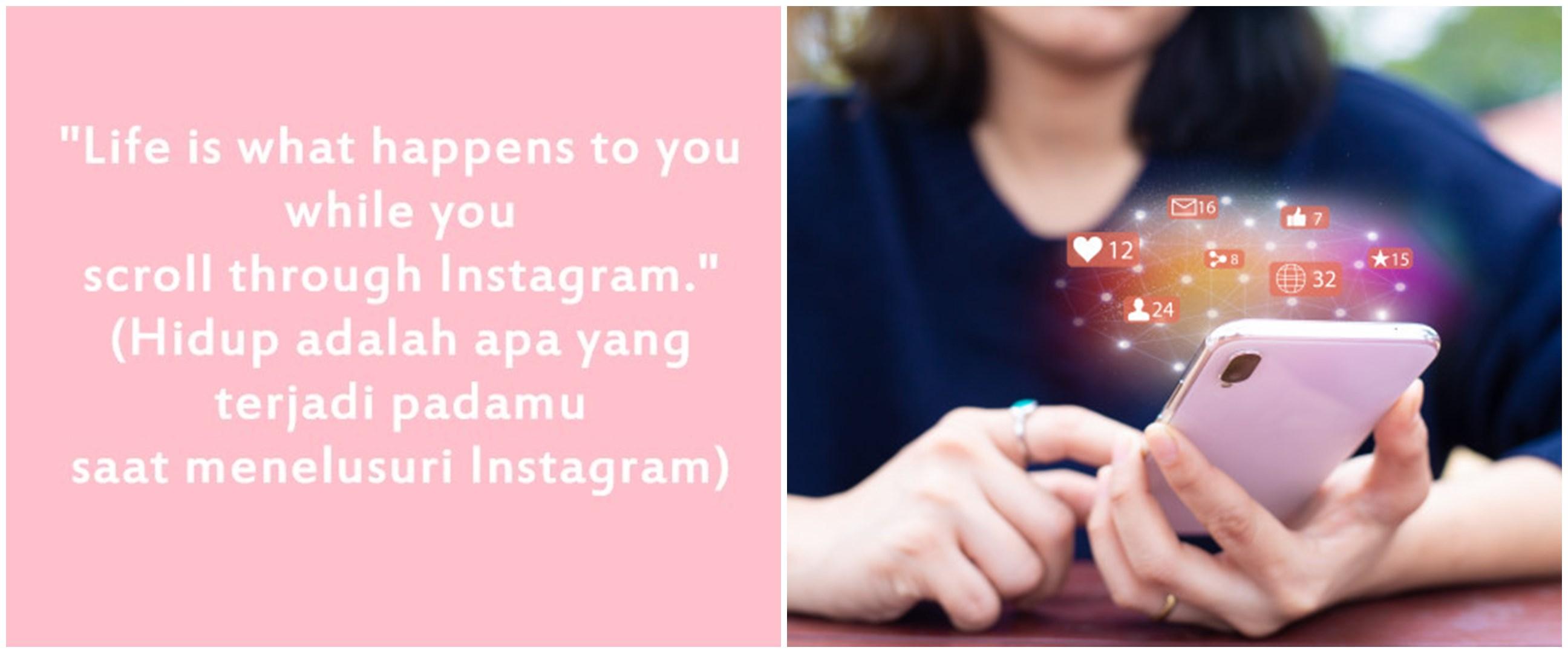 50 Kata-kata bio Instagram bahasa Inggris dan arti, keren & bermakna