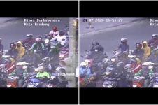 Viral video peringatan lucu bagi pelanggar lalu lintas di Bandung