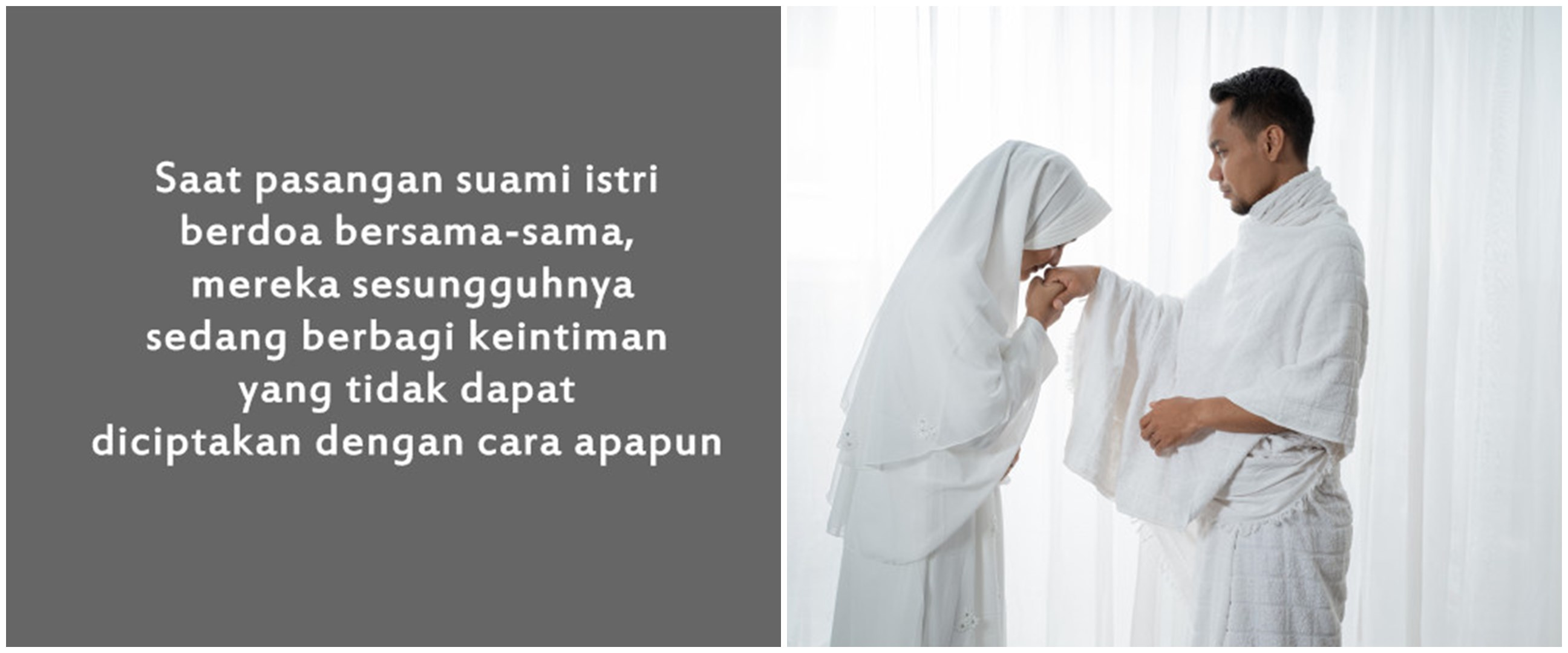 40 Kata-kata mutiara Islami untuk pasangan suami istri, penuh makna