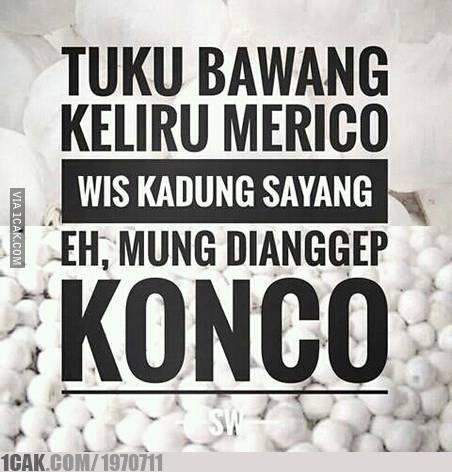 status Jawa medsos instagram