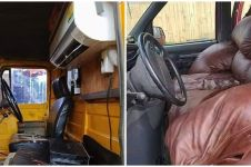 10 Penampakan lucu interior mobil ini bikin geleng kepala