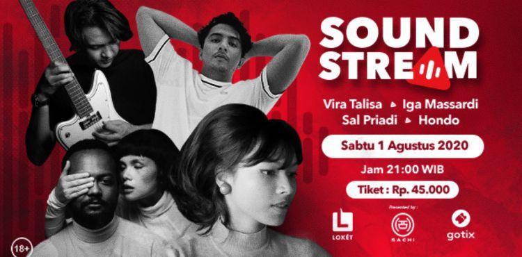 Nih 4 Musisi yang bakal menjadi penampil di edisi perdana Soundstream