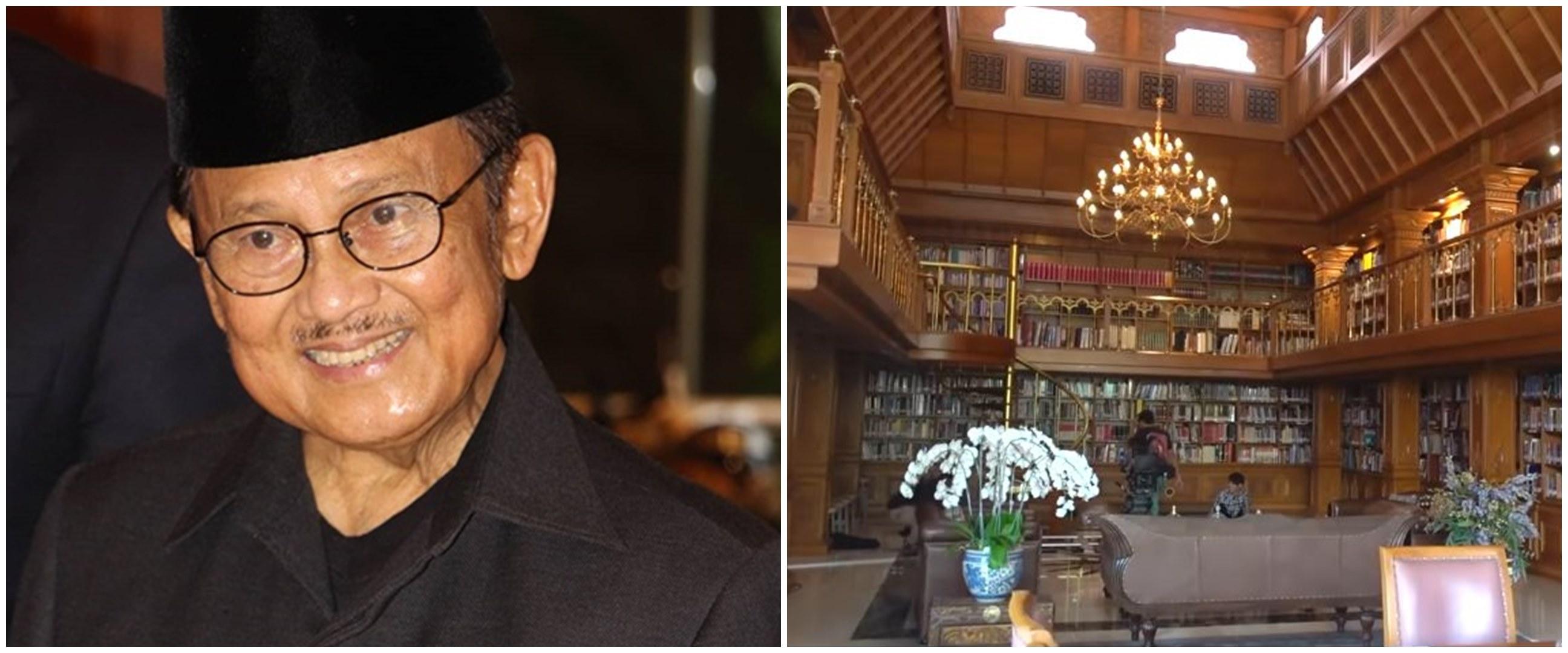 11 Penampakan rumah BJ Habibie, koleksinya curi perhatian