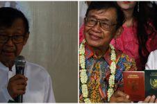 Kabar duka, sastrawan Ajip Rosidi suami Nani Widjaya meninggal dunia