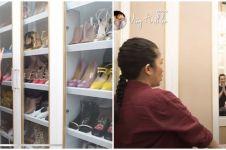 5 Potret walk in closet  Nindy Ayunda, koleksinya bikin melongo